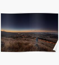 Sunrise from Mount Painter Poster