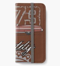 73 Caddy Convertible iPhone Wallet/Case/Skin