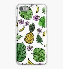 Tropical pattern iPhone Case/Skin
