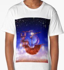 Cloud ship Long T-Shirt