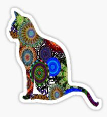 Fancy Feline Sticker