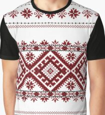 Traditional romanian motif Graphic T-Shirt