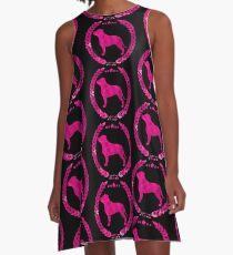 Staffy Camo A-Line Dress
