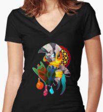 Zecora Women's Fitted V-Neck T-Shirt