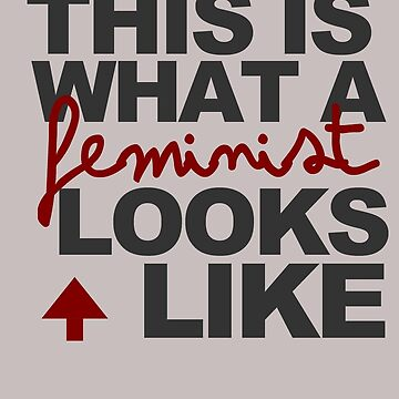 What a feminist looks like by joanalbuquerque