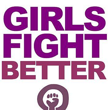 Girls fight better by joanalbuquerque