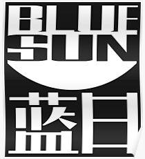 Blue Sun Corporation Logo Poster