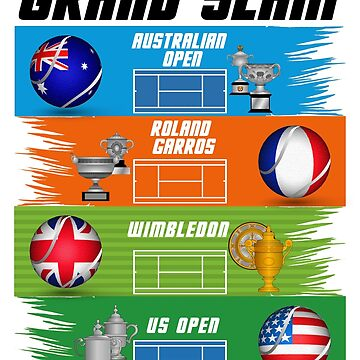 Grand Slam of Tennis by ideasfinder