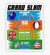 Grand Slam of Tennis Sticker