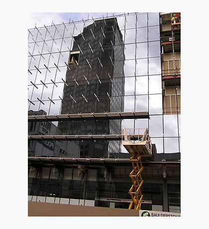 Building Reflection Photographic Print