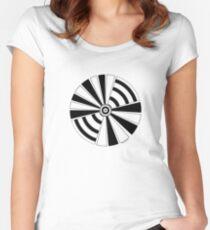 Mandala 17 Back In Black Women's Fitted Scoop T-Shirt