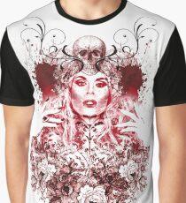 RuPaul Katya Zamolodchikova Gothic Russian Print Graphic T-Shirt