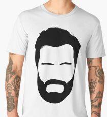 jamie dornan beard Men's Premium T-Shirt