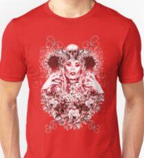 RuPaul Katya Zamolodchikova Gothic Russian Print T-Shirt