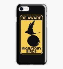 MONTY PYTHON BIRD COCONUT iPhone Case/Skin