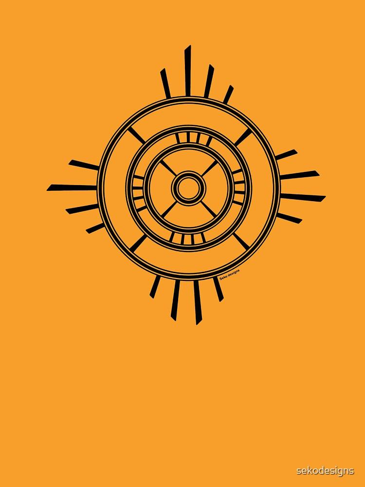 Mandala 4 Back In Black by sekodesigns