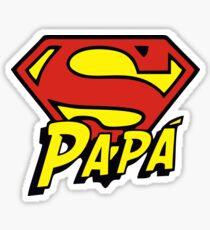 Father's Day - Super Papa Sticker