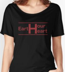 Earth Hour Heart Women's Relaxed Fit T-Shirt