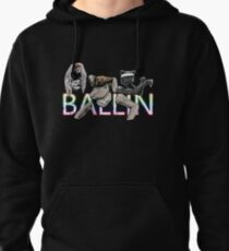 Ballin passion personification Pullover Hoodie