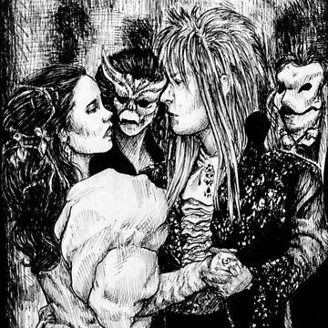 Labyrinth masquerade ball by Darkynere