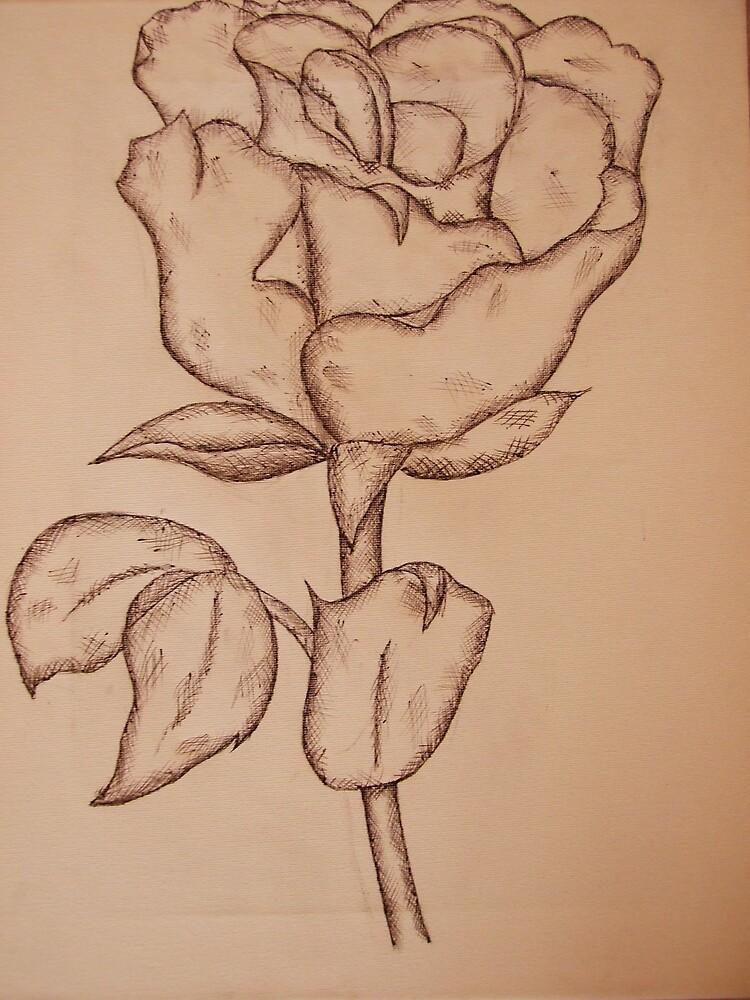 Sepia rose  by Gemma27