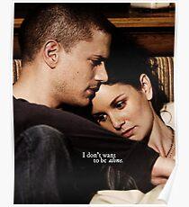 Prison Break, Michael and Sara Poster