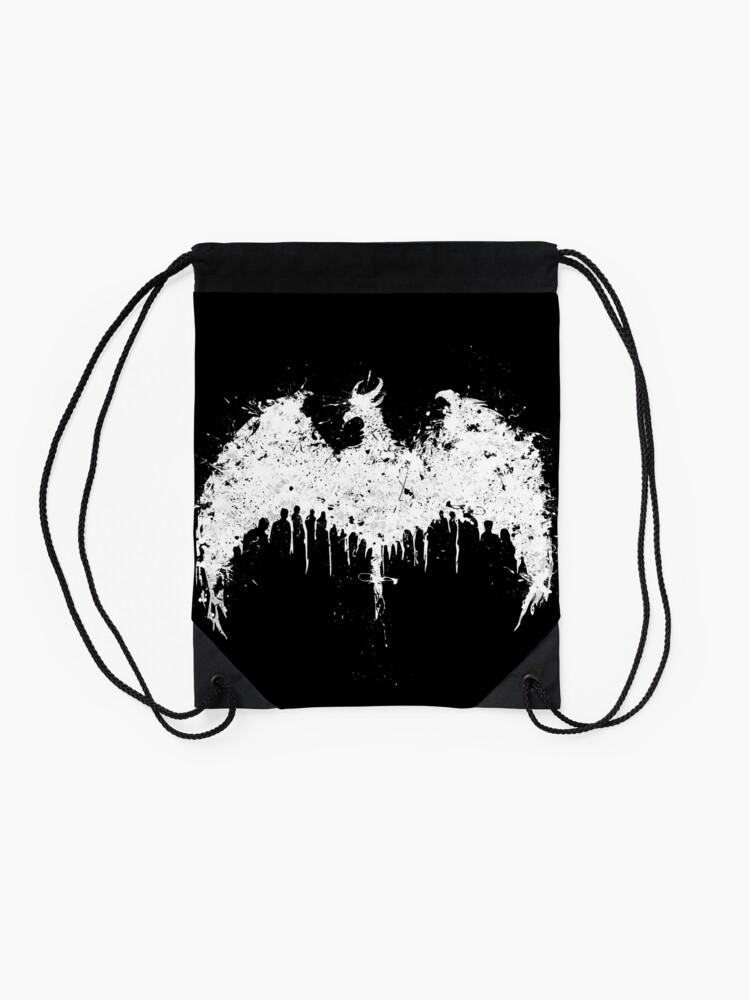 Alternate view of Dragon age  Drawstring Bag