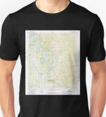 USGS TOPO Map Florida FL Lake Mary 347073 1972 24000 Unisex T-Shirt