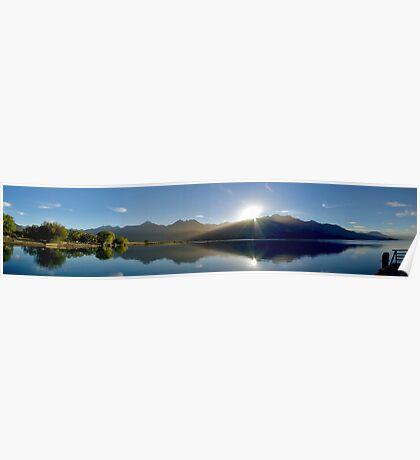 Lake Wakitipu Sunrise  Poster