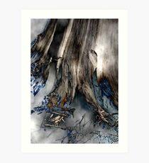Ancient Roots Art Print