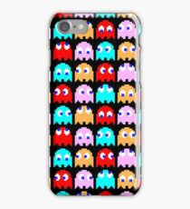 8-Bit Pac-Man Ghosts iPhone Case/Skin