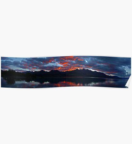 lake Wakitipu Sunrise 2 Poster