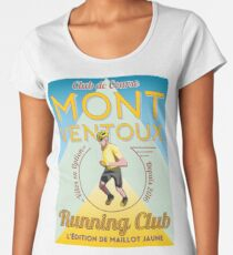 Chris Froome Mont Ventoux Running Club Women's Premium T-Shirt