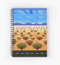 Northern Arizona Landscape Spiral Notebook