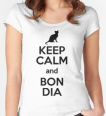 Bon dia Women's Fitted Scoop T-Shirt