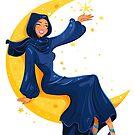 Lady on the Moon by MissChatZ