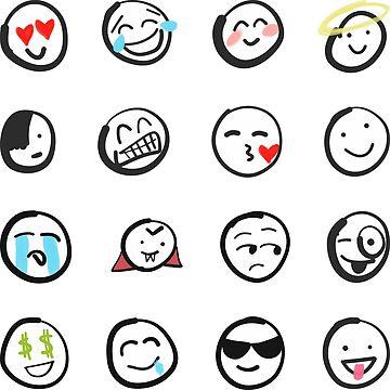 Emoji sticker sheet by mDeltaV by mDeltaV
