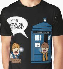 Dr Who - Tardis Doctors chibi Graphic T-Shirt