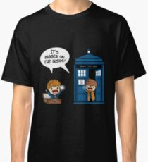 Dr Who - Tardis Doctors chibi Classic T-Shirt