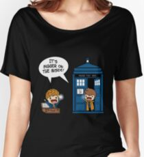 Dr Who - Tardis Doctors chibi Women's Relaxed Fit T-Shirt