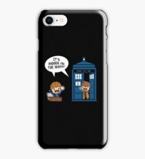Dr Who - Tardis Doctors chibi iPhone Case/Skin
