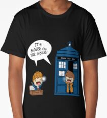 Dr Who - Tardis Doctors chibi Long T-Shirt