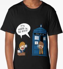 Dr Who - Tardis Doctors chibi Long T-Shirt