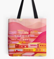 Pueblo at Dusk Tote Bag