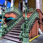 Stairs in Charleston by TJ Baccari Photography