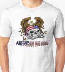 American Skull and Eagle 2 Unisex T-Shirt