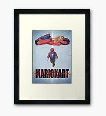 Super Akira! - Poster Framed Print