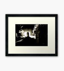 The Graveyard Framed Print