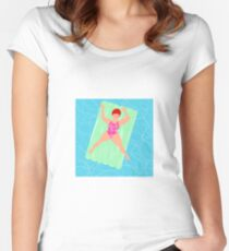 Lilo Loving Women's Fitted Scoop T-Shirt