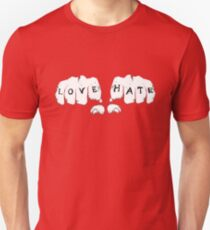 Love Hate Unisex T-Shirt